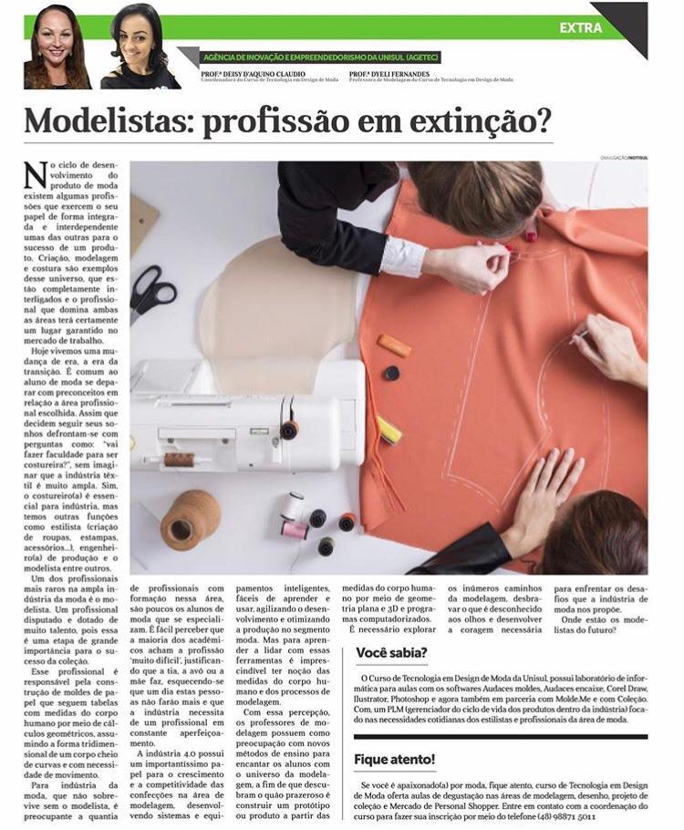 Modelista, uma profissão em extinção?
