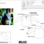 CM0016 - Camisa com recorte - arquivo-ads-audaces